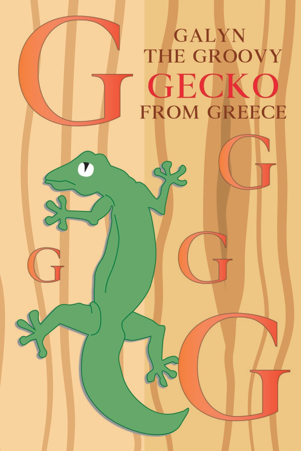 Galen The Groovy GECKO From GREECE Poster