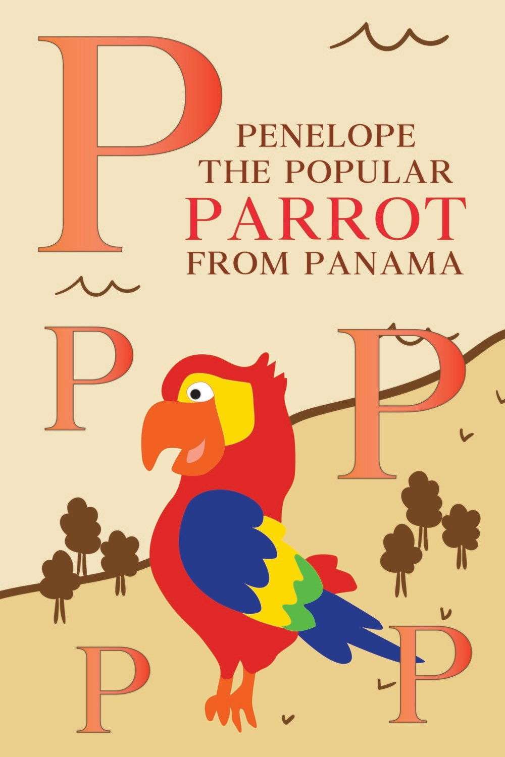 Penelope The Popular PARROT From PANAMA Poster