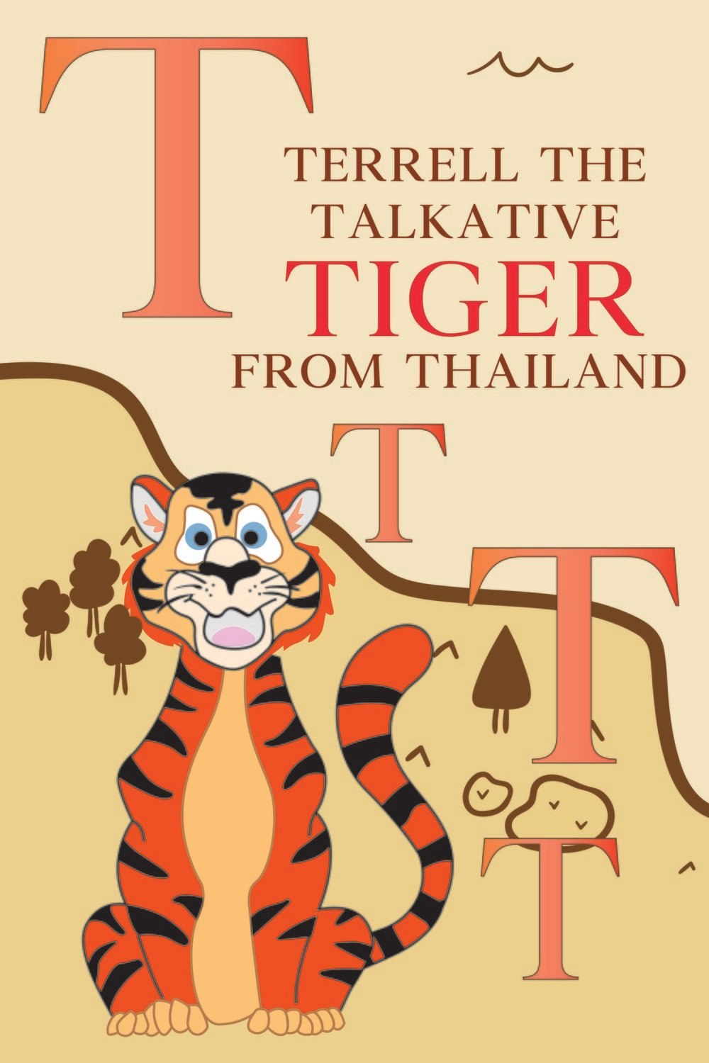 Terrell The Talkative TIGER From THAILAND Poster