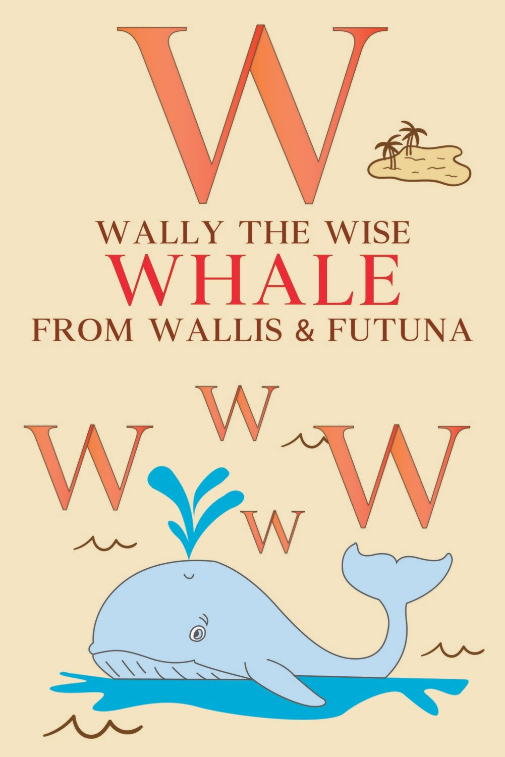 Wally The Wise WHALE From WALLIS & FUTUNA Poster