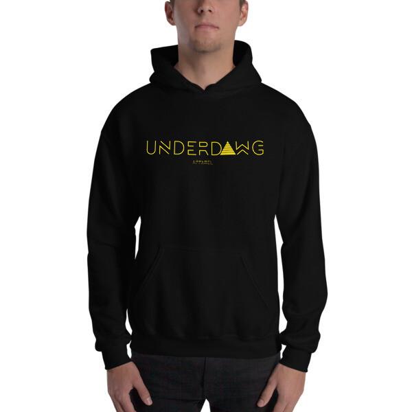 Underdawg Gold Hooded Sweatshirt
