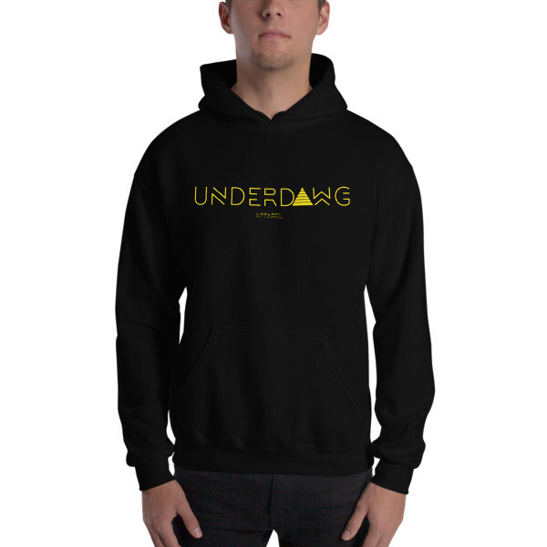 Underdawg Gold Hooded Sweatshirt