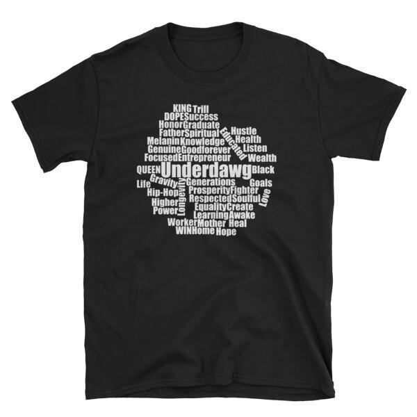 Word Cloud Short-Sleeve Unisex T-Shirt