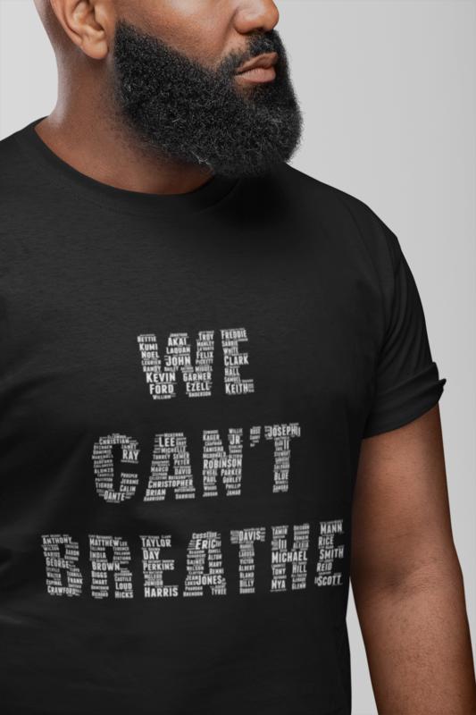 We Cant Breathe Short Sleeve T-Shirt