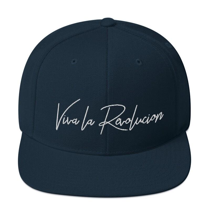 Viva La Revolucion Snapback Hat