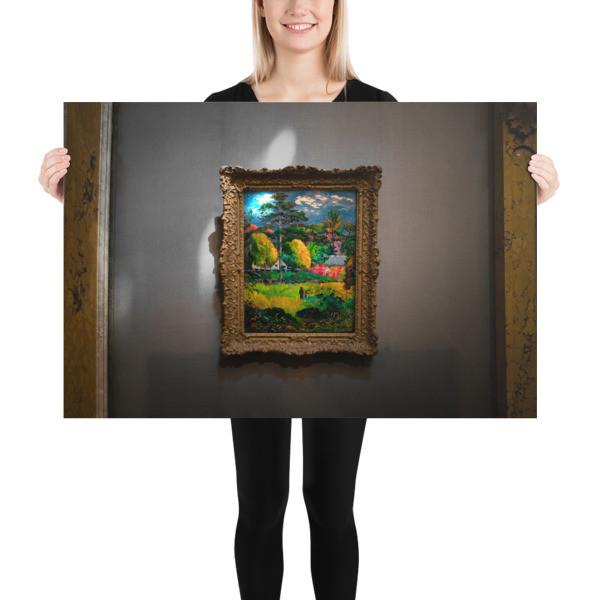 Scapes — Hidden Landscape 1901 — Paul Gauguin