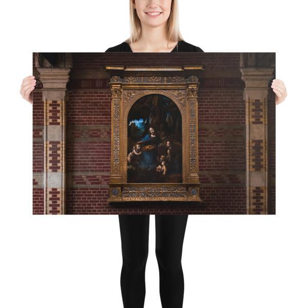 Da Vinci's Virgin of the Rocks — The National Gallery Version, up close
