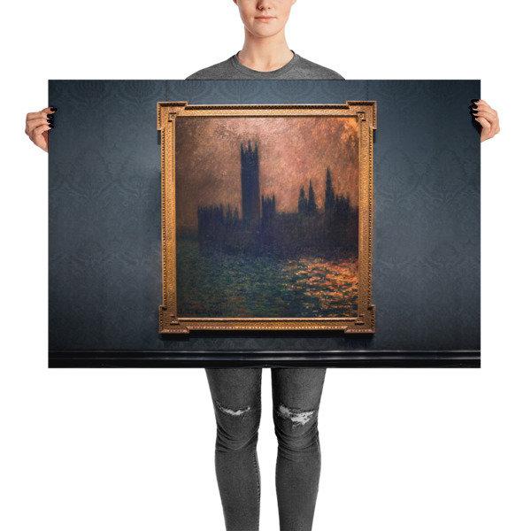Blue Houses — Bronzed Amber