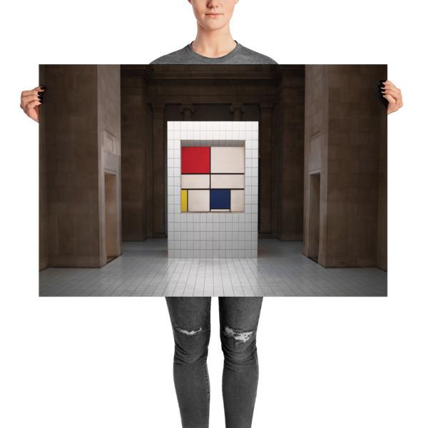 Mondrian's Composition C