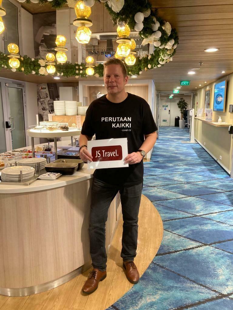 """JS Travelin """"karanteenivapaa"""" viiniristeily Eckerö Linella 15.5.2021. Teemana kesäviinit. Matkan lähtijämäärä on rajattu 20 henkeen."""
