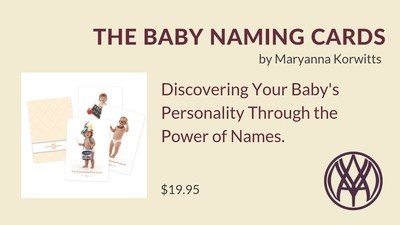 The Baby Naming Cards