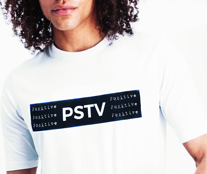 T-shirt PSTV mod. Uomo - NEW