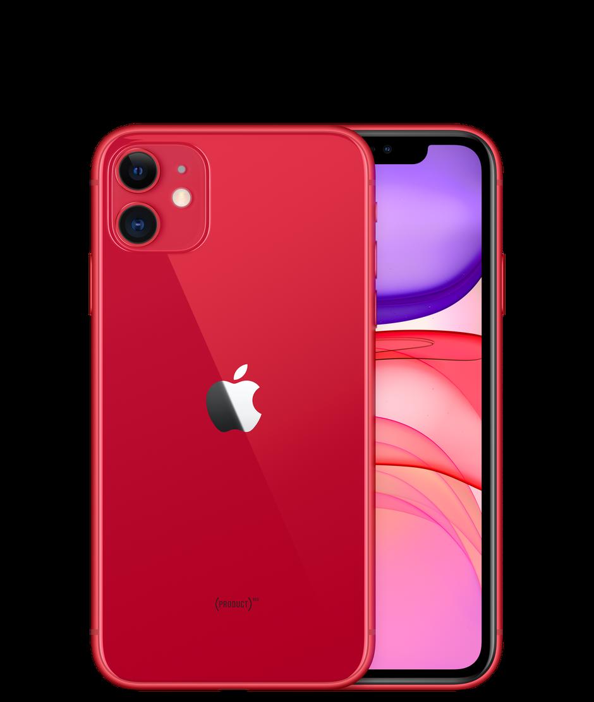 Смартфон Apple iPhone 11 64GB, красный, Slimbox