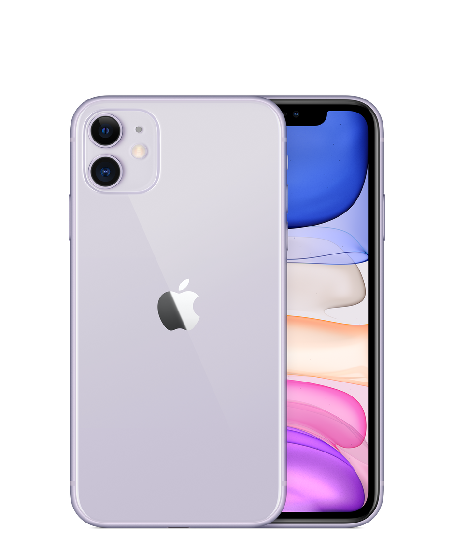 Смартфон Apple iPhone 11 256 ГБ, фиолетовый, Slimbox