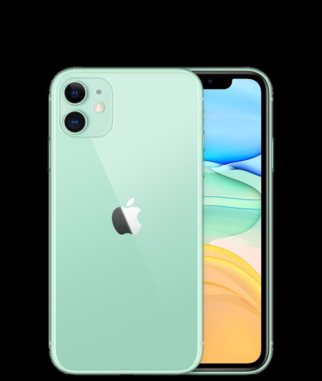 Смартфон Apple iPhone 11 256GB, зеленый, Slimbox