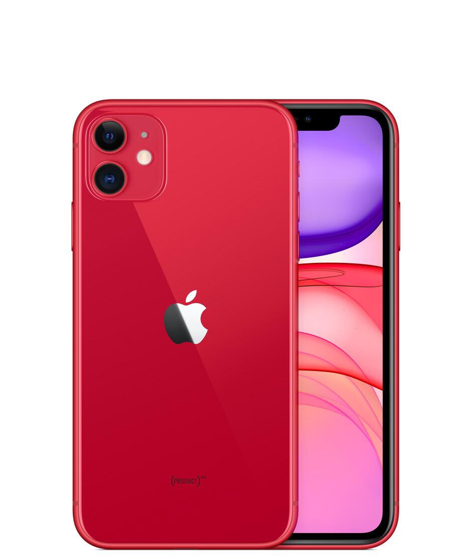 Смартфон Apple iPhone 11 128GB, красный, Slimbox