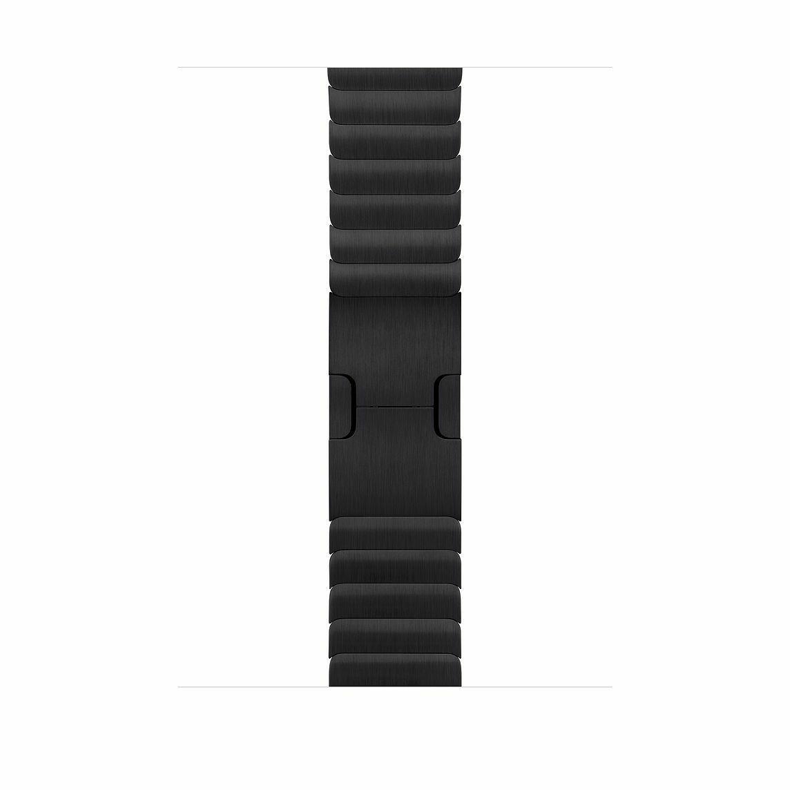 Блочный ремешок для Apple Watch 42mm/44mm Link Bracelet (Черный космос)