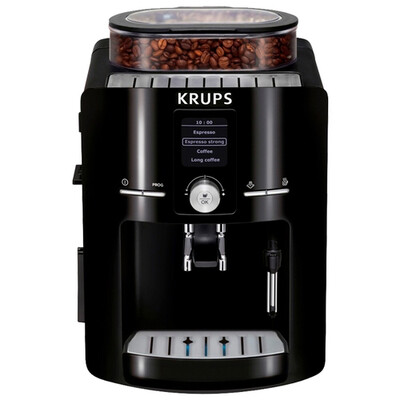 Кофемашина Krups EA8250 Compact Espresseria, черный