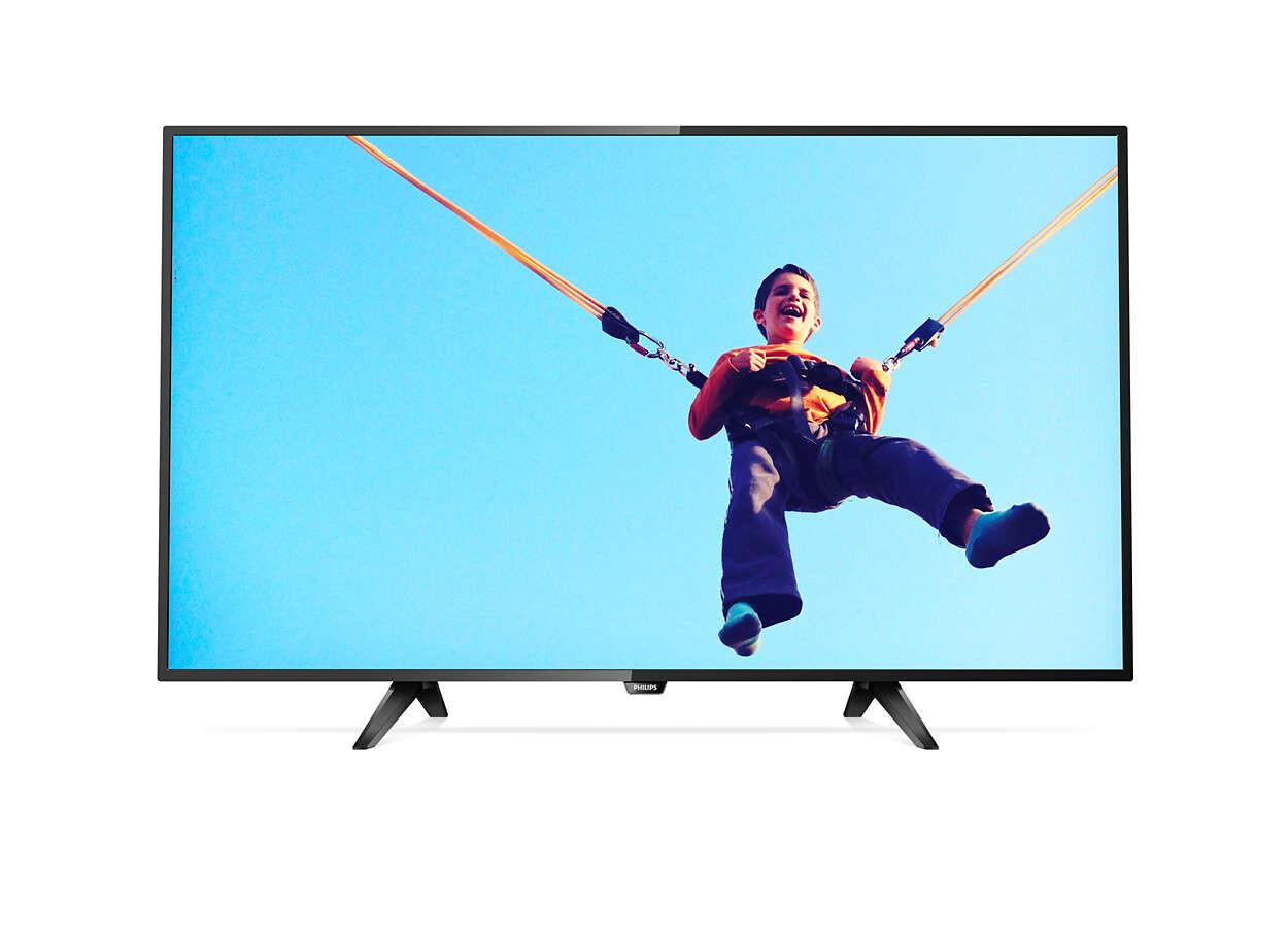 """Телевизор Philips 43PFS5302 42.5"""" (2017), черный"""