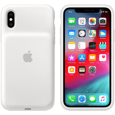 Чехол-аккумулятор Apple Smart Battery Case для Apple iPhone XS Белый