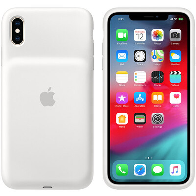 Чехол-аккумулятор Apple Smart Battery Case для Apple iPhone XS Max Белый