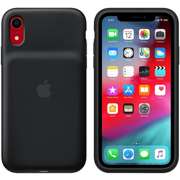 Чехол-аккумулятор Apple Smart Battery Case для Apple iPhone Xr черный