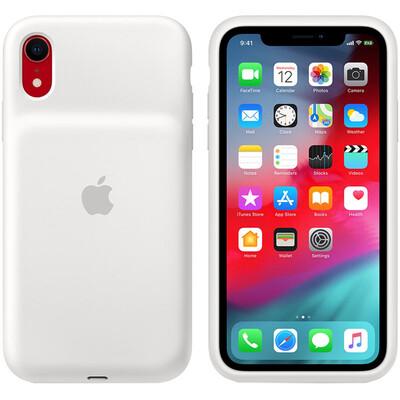 Чехол-аккумулятор Apple Smart Battery Case для Apple iPhone Xr (Белый)