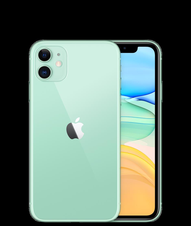 Смартфон Apple iPhone 11 128GB, зеленый, Slimbox