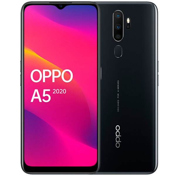 Смартфон OPPO A5 (2020) 3/64GB (Черный) RU/A