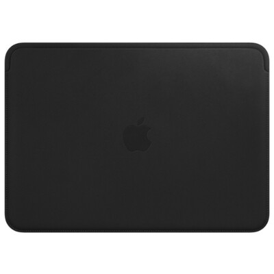 Чехол Apple Leather Sleeve for MacBook Pro 15 (Midnight blue)