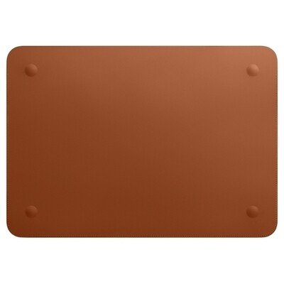 Чехол Apple Leather Sleeve for MacBook Pro 15 (Saddle brown)