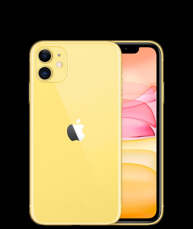 Смартфон Apple iPhone 11 128GB, желтый, Slimbox