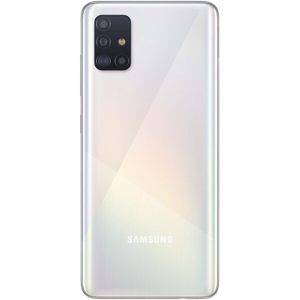 Смартфон Samsung Galaxy A51 64GB, белый