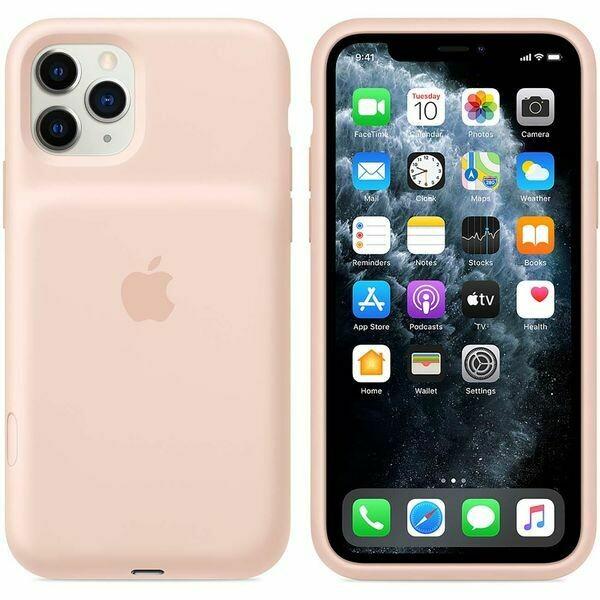 Чехол-аккумулятор Apple Smart Battery Case для Apple iPhone 11 Pro Max (Розовый песок)