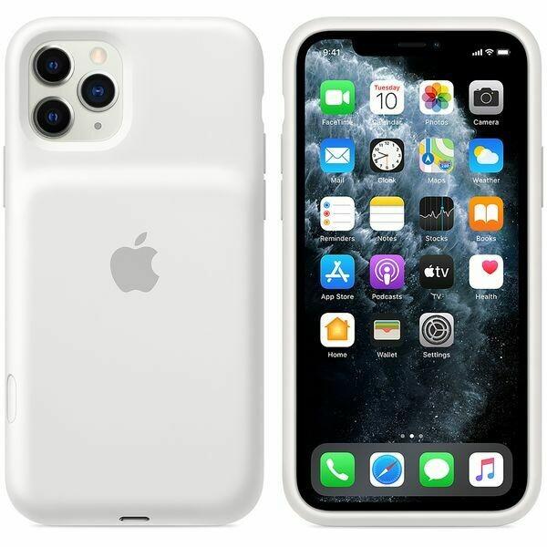 Чехол-аккумулятор Apple Smart Battery Case для Apple iPhone 11 Pro Max белый
