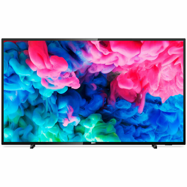 """Телевизор Philips 55PUS6503 54.6"""" (2018), черный"""