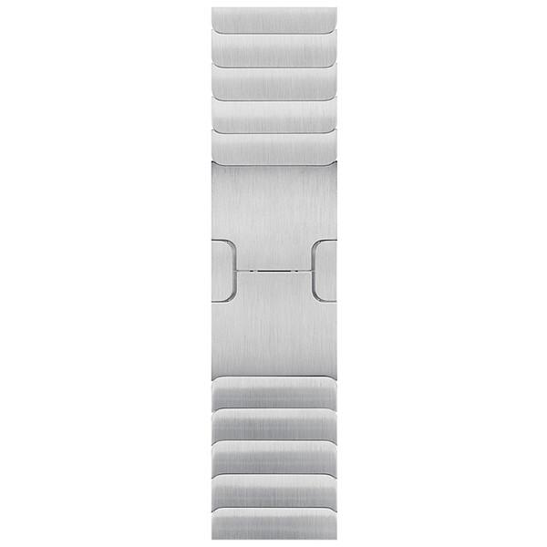 Блочный ремешок для Apple Watch 38mm/40mm Link Bracelet (Серебристый)