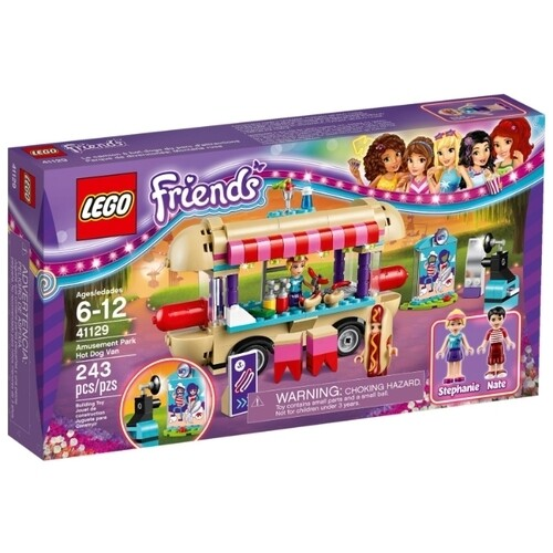 Конструктор LEGO Friends 41129 Киоск с хот-догами в парке развлечений