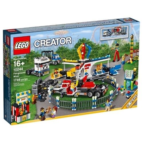 Конструктор LEGO Creator 10244 Передвижной парк аттракционов