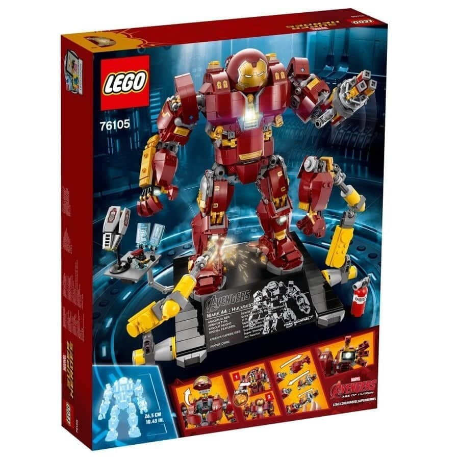 Конструктор LEGO Marvel Super Heroes 76105 Халкбастер: эра Альтрона