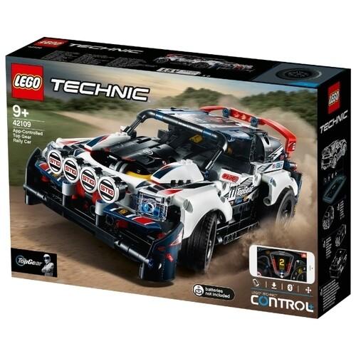 Электромеханический конструктор LEGO Technic 42109 Гоночный автомобиль Top Gear на управлении
