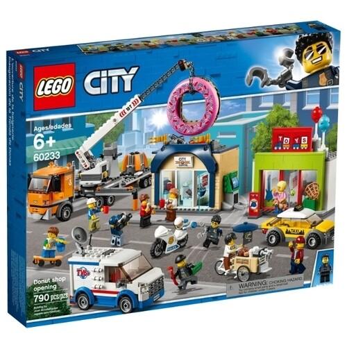 Конструктор LEGO City 60233 Открытие магазина по продаже пончиков