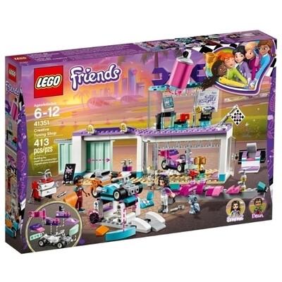 Конструктор LEGO Friends 41351 Мастерская по тюнингу автомобилей