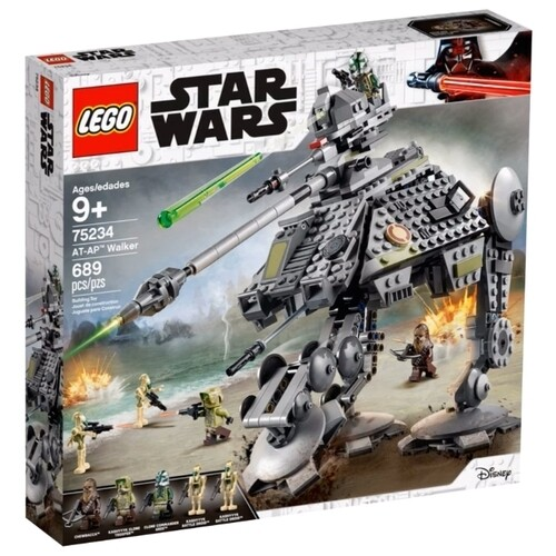 Конструктор LEGO Star Wars 75234 Шагающий танк АТ-AP