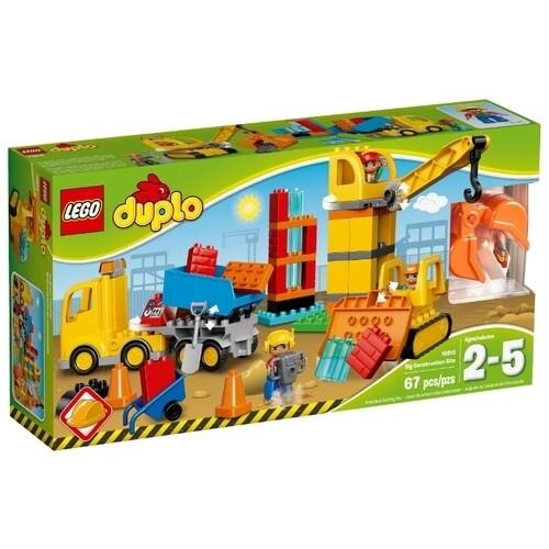 Конструктор LEGO DUPLO 10813 Большая стройплощадка