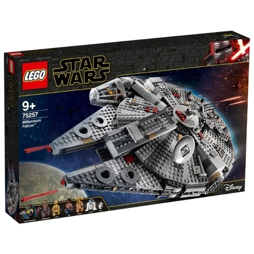 Конструктор LEGO Star Wars 75257 Episode IX Сокол Тысячелетия