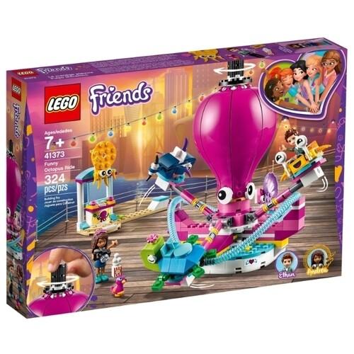 Конструктор LEGO Friends 41373 Аттракцион «Весёлый осьминог»