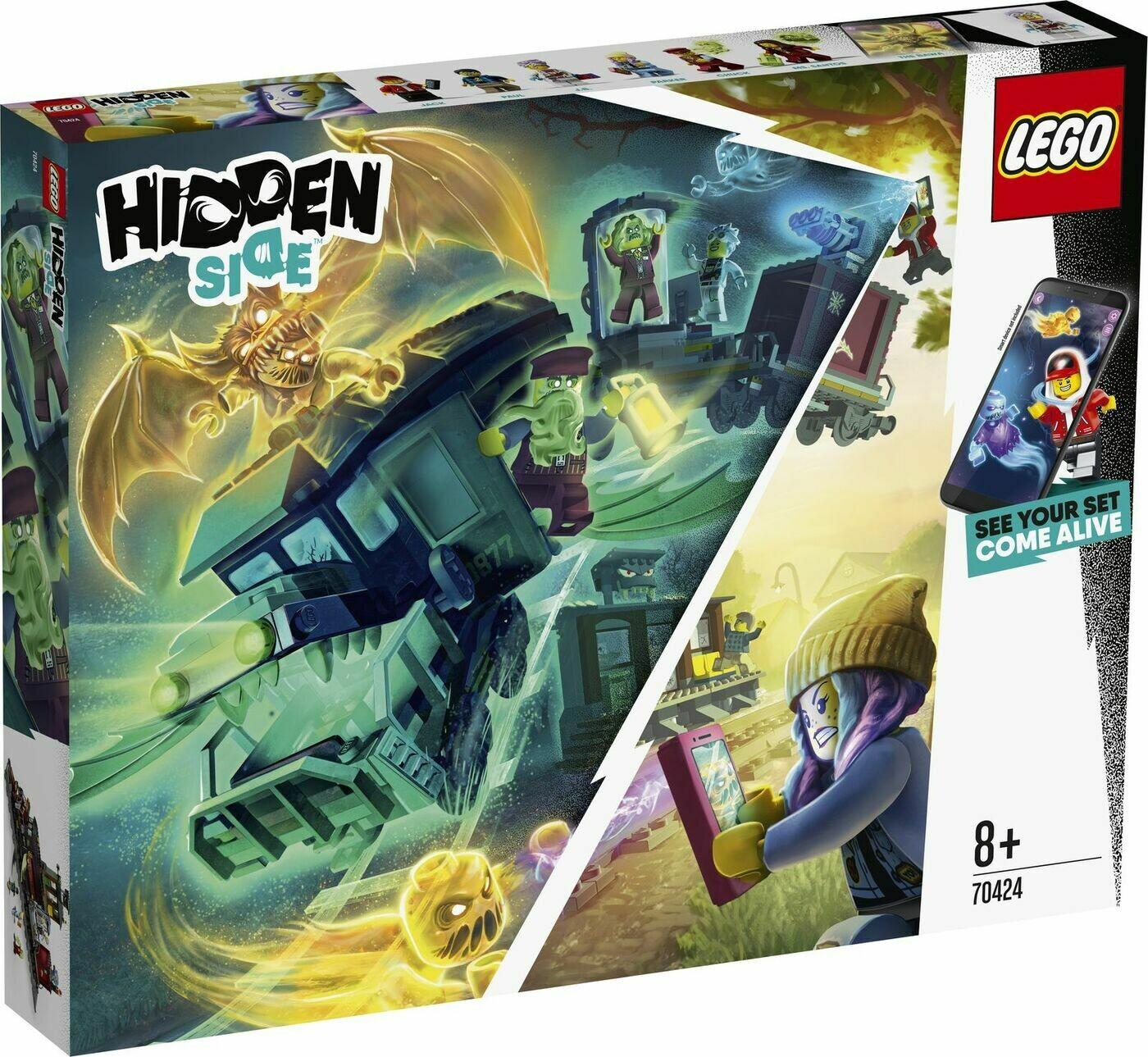 Конструктор LEGO Hidden Side 70424 Призрачный экспресс