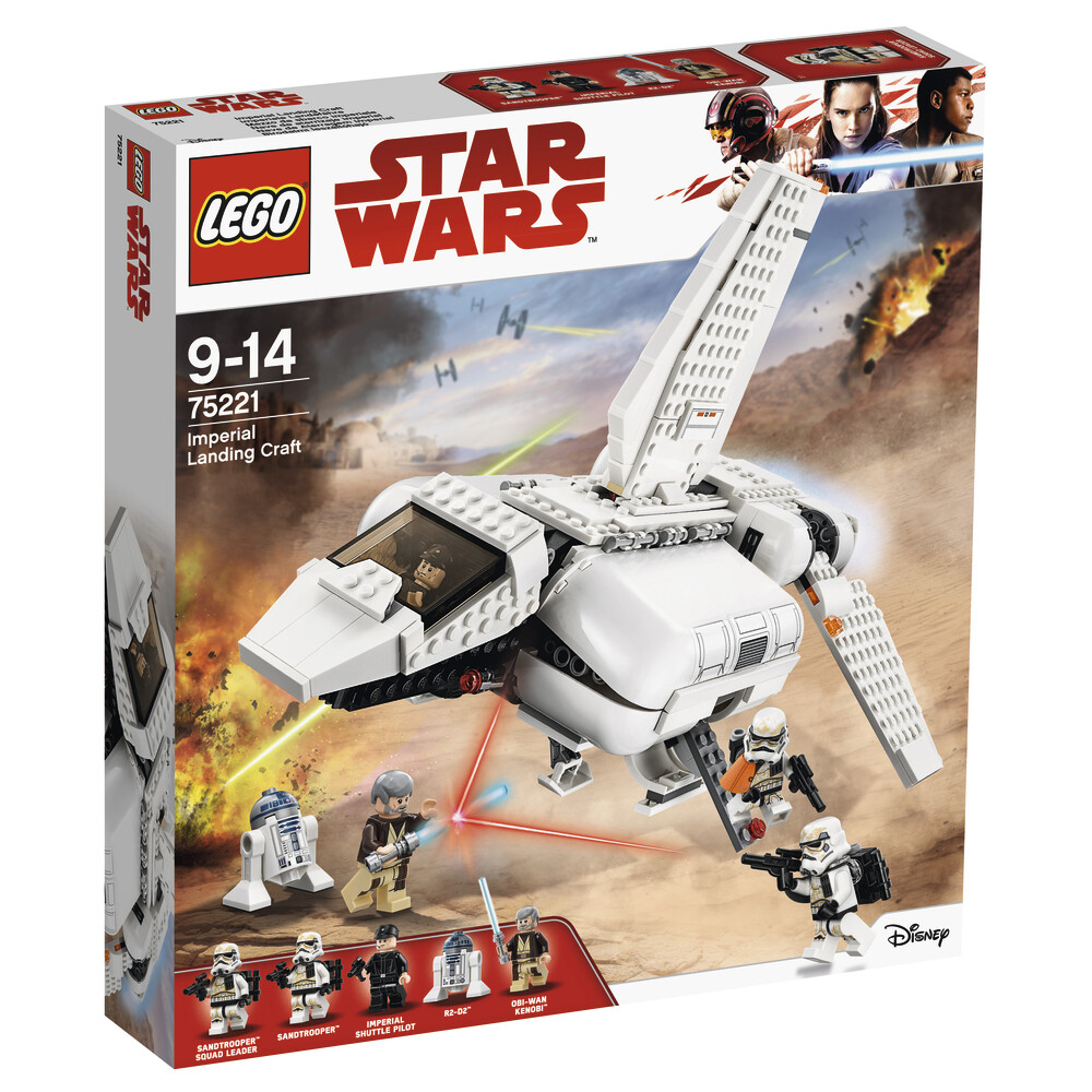 Конструктор LEGO Star Wars 75221 Имперский посадочный шаттл