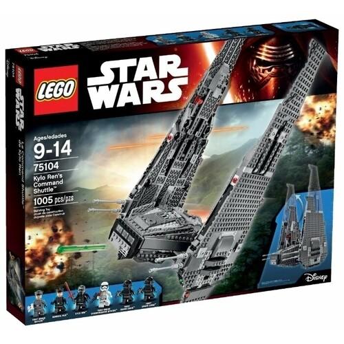Конструктор LEGO Star Wars 75104 Командный шаттл Кайло Рена